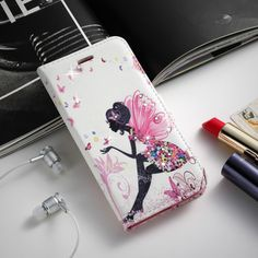Luxury Leather Wallet Card Diamond Beautiful girl Case For Samsung Galaxy A3 2014 A300F A300FU A300G SM-A300FU A300 Stand Holder