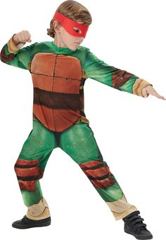 Fancy dress costume ~ #childs classic tmnt #teenage mutant #ninja turtles ages 3-,  View more on the LINK: http://www.zeppy.io/product/gb/2/401026428838/