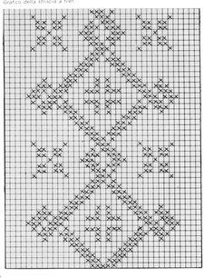 @nika Cross Stitch Borders, Cross Stitch Flowers, Knitting Patterns Free, Free Pattern, Blackwork, Crochet Stitches, Needlepoint, Embroidery Designs, Diy And Crafts