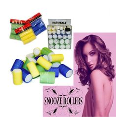 Snooze Rollers Sleep-in Hair Rollers