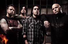 Nonpoint. i totally got to chill with these guys during the All That Remains concert