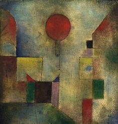 * Ballon rouge 1922 Paul Klee