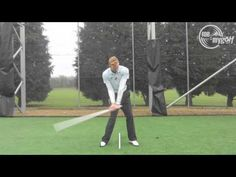 ▶ Hit a golf ball really straight - YouTube