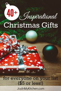 christmas gifts under 5 dollars for everyone on your list
