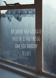 Afrikaans Live Love, My Love, Afrikaanse Quotes, My Guy, Cute Quotes, Qoutes, Poems, Inspiration, Africans