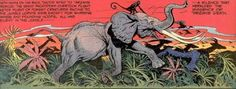 Tarzan - desenho de Burne Hogarth - imagem 2
