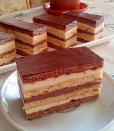 mézes krémes stories and pictures at blikkruzs. Sweet Recipes, Cake Recipes, Dessert Recipes, Burek Recipe, Cake Slicer, Hungarian Recipes, No Bake Cake, Amazing Cakes, Food Porn