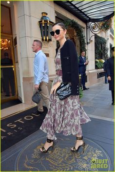 Miranda Kerr Rocks Four Looks in One Day During SS17 PFW - October 2016