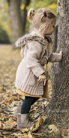 Autumn outfit for little firl fashion kids fall.