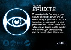 I took Zimbio and AMC Theatre's 'Divergent' quiz, and I'm Erudite! Which faction are you? #ZimbioQuiznull - Quiz