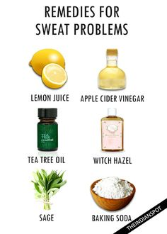 REMEDIES FOR SMELLY SWEAT PROBLEMS