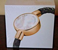 92b8e8d970f2 Michael Kors Access Women s Crosby Black Gold Fitness Activity Tracker  Bracelet