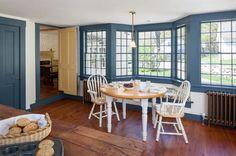 Farmhouse Dining Room by Platt Builders