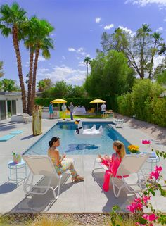WIN: Modern-day Poolside Gossip + Tix to Modernism Week in Palm Springs | Kelly Golightly