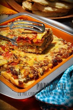 Quiche, Cooking Recipes, Healthy Recipes, Healthy Food, Romanian Food, I Foods, Lasagna, Food To Make, Good Food