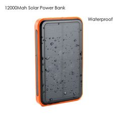 Find More Backup Powers Information about 12000mah solar power bank Waterproof Portable External Mobile Powerbank USB Battery charger for Xiaomi for Iphone for Samsung,High Quality charger holder,China charger for panasonic camera Suppliers, Cheap charger portable from Jamie's Honesty  shop on Aliexpress.com