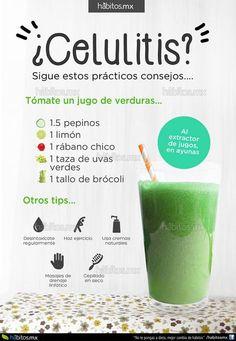 Hábitos Health Coaching | JUGO DE VERDURAS PARA REDUCIR CELULITIS