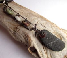 Necklace  Sterling Silver Pendant  Copper  Riveted  by rmddesigns,