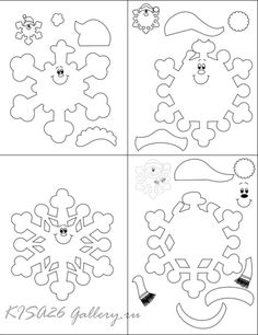 Garland for children's decor (and not only) + holiday paper template. Fastening with eyelets allow . Christmas Templates, Christmas Svg, Christmas Colors, Christmas Projects, Handmade Christmas, Holiday Crafts, Christmas Holidays, Christmas Decorations, Christmas Ornaments
