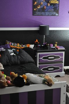nightmare before christmas room home sweet home - Nightmare Before Christmas Bedroom Decor