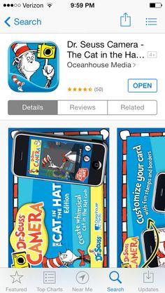 Dr Seuss camera app