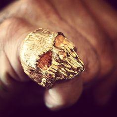 Chris Anderson skull ring