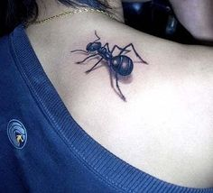 37 Ant Tattoos - Meanings, Photos, Designs for men and women