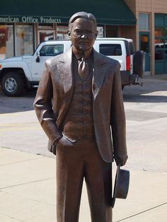 Herbert Hoover Statue, Presidents Tour, Rapid City, South Dakota - 31st President of the United States of America