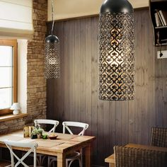 Led Röhren, Led Pendant Lights, Country Style Homes, Led Lampe, Hanging Lights, Light Up, Die Cutting, Bulb, House Styles