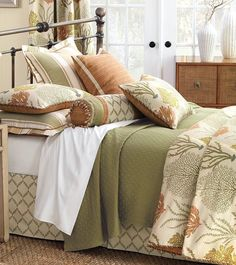 Autumn Reef Luxury Bedding Collection | Nautical Luxuries