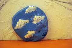 La Escuela de Arte: Piedras pintadas: Sol