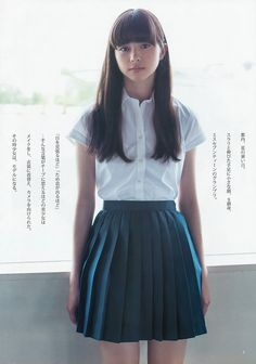 Japanese school uniform vs Korean school uniform - K-POP, K-FANS Japanese Beauty, Japanese Fashion, Asian Fashion, Asian Beauty, Girl Fashion, Style Fashion, School Uniform Girls, Girls Uniforms, Foto Portrait
