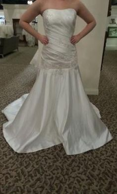 Allure Bridals 8611: buy this dress for a fraction of the salon price on PreOwnedWeddingDresses.com