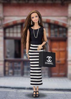 Falda barbie