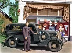 1934 Lux soap delivery man   by Mr. Willie B.