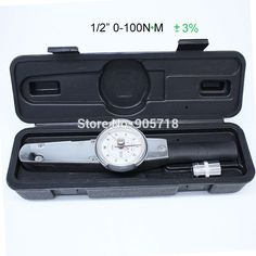 """72.01$  Buy here - http://aliow7.worldwells.pw/go.php?t=32660916379 - """"JIAMU 1/2DR"""""""" ACD 0-100Nm Professional Analog Dial Torque Wrench Srew Torque Tester Tool"""" 72.01$"""