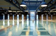 Basque Country, Bizkaia, Bilbao, Alhóndiga, one of the pools