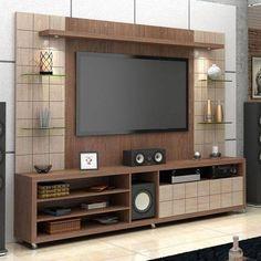Tv cabinet design, tv unit design, entertainment wall, tv furniture, wall m Interior, Tv Wall Design, Cozy Family Rooms, Cabinet Design, Living Room Tv Unit Designs, Wall Design, Living Room Tv Wall, Tv Cabinet Design