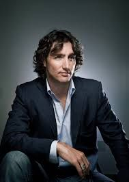 Canada's new prime minister, Justin Trudeau*. He's the 2nd youngest PM in our history (43) after Joe Clark (40). *babe