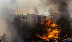 University of Haifa evacuated as fires blaze…