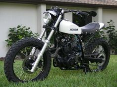 xl600 flat tracker. custom bike