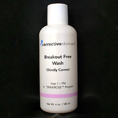 Corrective Skin Care knows how important it is to find the right cleanser for very oily or acne prone skin, that's why breakout free has shea butter to balance skins delicate Ph levels and is blended with anti-oxidant, anti-bacterial Totarol and salicylic acid levels customized for your individual needs, which act as a peeling agent and leave your skin completely clear and break out free.