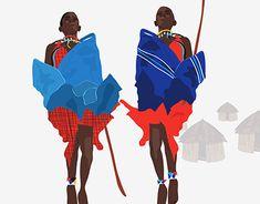 Kenya inspired on Behance