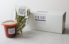 Homemade Pasta Gifts | Gift DIY | Spoon Fork Bacon