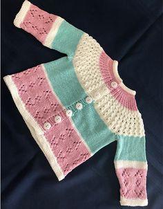 Rosabel Cardigan - Free Guide Free Knitting Pattern , Rosabel Cardigan - Free Pattern , Free Knitting Patterns Source by AmazingKnit. Baby Cardigan Knitting Pattern Free, Knitted Baby Cardigan, Knit Baby Sweaters, Cardigan Pattern, Toddler Knitting Patterns Free, Crochet Jacket, Knitting Blogs, Knitting For Kids, Free Knitting