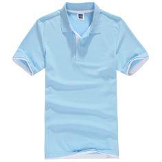 새로운 남성 폴로 셔츠 남성 짧은 소매 셔츠 sportspolo 유니폼 golftennis 플러스 사이즈 XS-3XL camisa 폴로 옴므