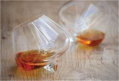 Cognac Glasses By Bodie And Fou --- I really love these, so pretty.not that i drink cognac or anything. Whisky, Liquor Glasses, Shot Glasses, Whiskey Glasses, Whiskey Decanter, Christmas Gift Guide, Christmas Gifts, Christmas Ideas, Wine Glass