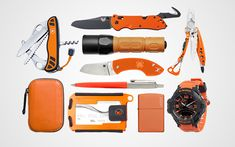 10 Orange Everyday Carry Essentials for High Visibility