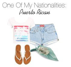 """""""Nationalities #2"""" by littlelatina7 on Polyvore featuring Columbia and Lladró"""