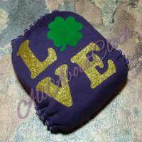 Shamrock love - Purple